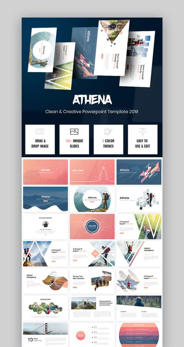 Athena Template Professional PPT