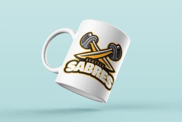 Fantasy Football Logo Mugs