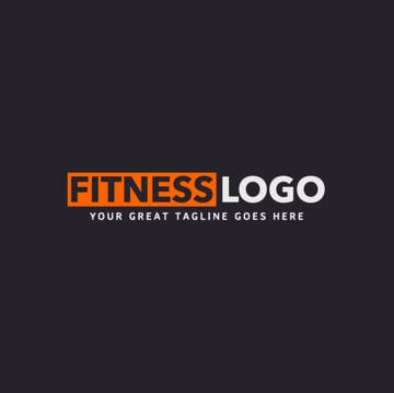 Text Only Fitness Logo Maker