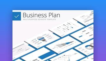 Business Plan Keynote template