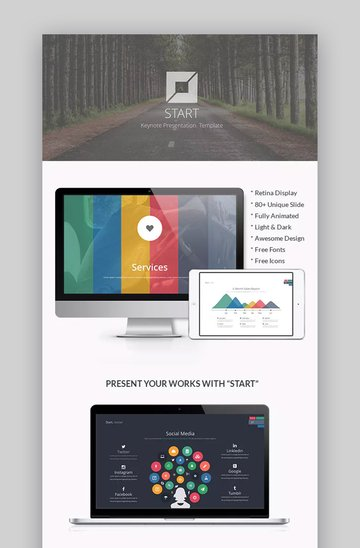 Start Business template for Keynote