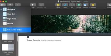 Edit Master Slides