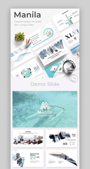 Manial Creative PowerPoint Template