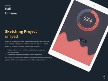 Mobile mockup on iPad