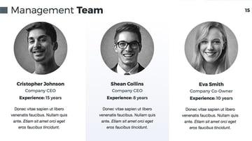 The Team Slide