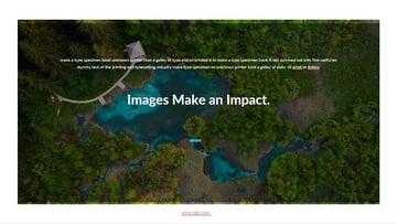 Bilder wirken sich auf Folien aus - Agio Corporate Presentation Template