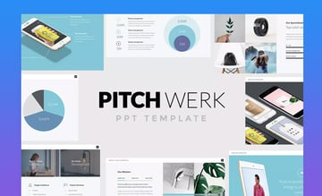 Pitch Werk Pitch Deck PowerPoint