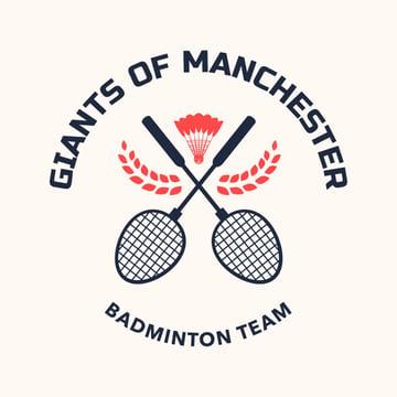 Badminton Logo Maker