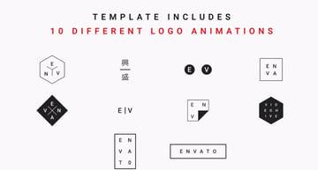 Minimal Modern Logo Reveal
