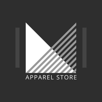 Logo template with 90s style