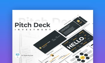 Pitch Deck Keynote Template