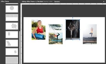 Customzied image template