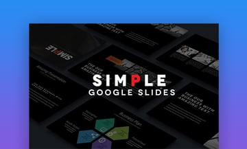 SIMPLE Google Slides
