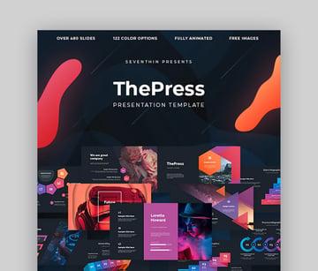 ThePress Geschäftspräsentation PPT