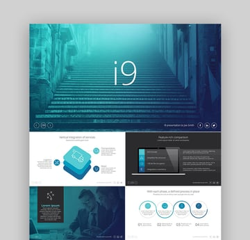 i9 PowerPoint Layouts