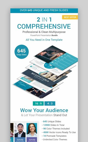 Comprehensive Business Solutions Infographic Template PowerPoint