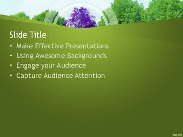 PowerPoint Templates Nature PPT Free Download