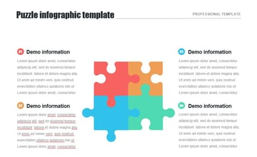 Example of PowerPoint Puzzle template