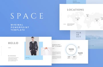 Space free professional Keynote templates