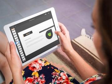 iPad on mobile