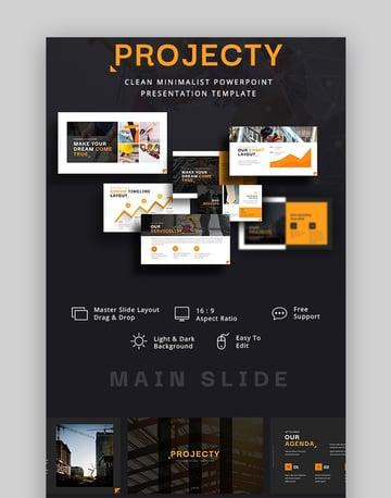 Projecty Minimal PowerPoint Design