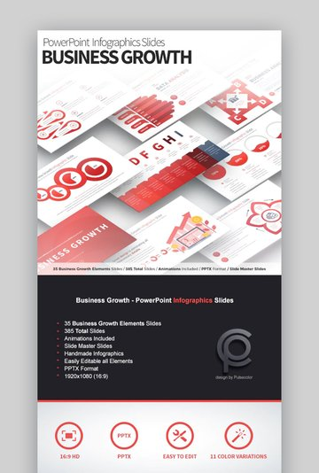 PowerPoint Graph Templates