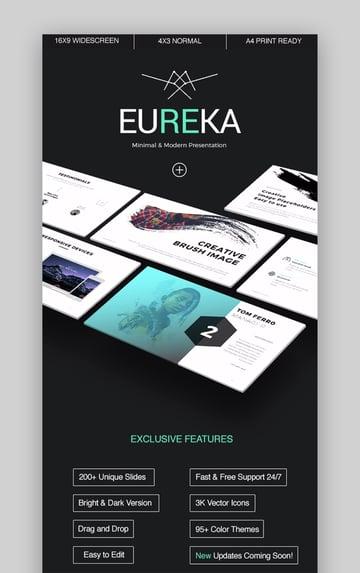 Eureka Professional PPT-Vorlagen