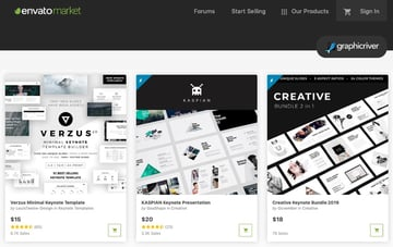 GraphicRiver Animated Keynote Templates