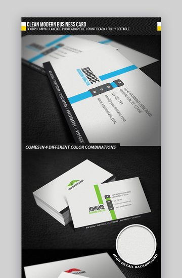 Business cards for house cleaning examples