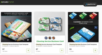 Business card templates GraphicRiver