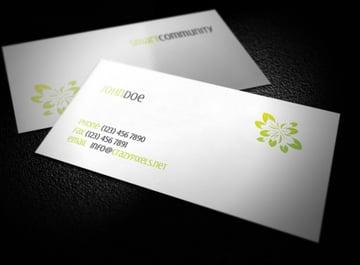 Design business cards online free