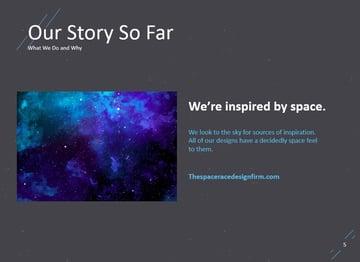 Starcraft Space PowerPoint slides