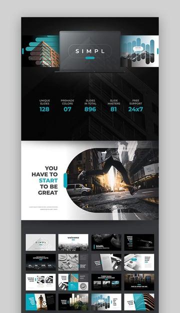 Simple PowerPoint Designs