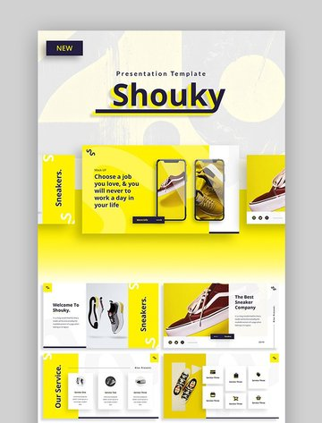 Shouky Creative PPT Template for PowerPoint Ideas