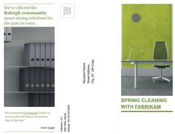 Tri fold PowerPoint brochure template PowerPoint