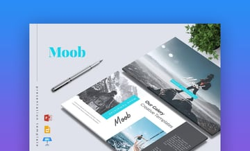 Moob Creative PowerPoint Template