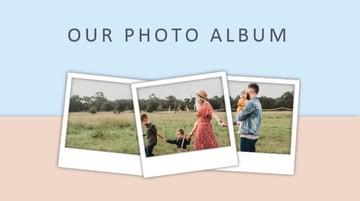 PowerPoint photo album template