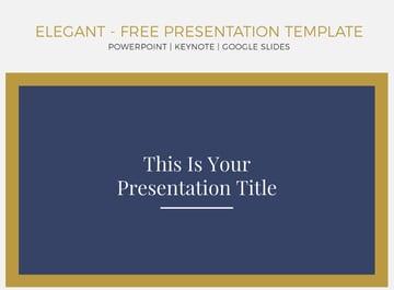 Free Google Slides themes