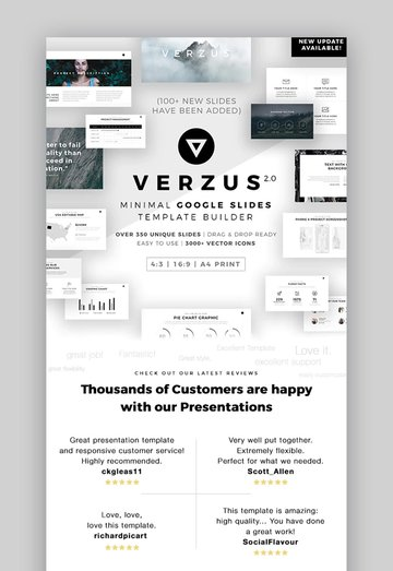 Verzus Custom Theme for Google Slides