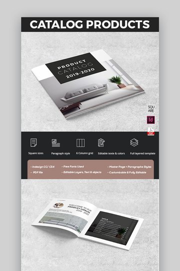 Stylish Product brochure templates