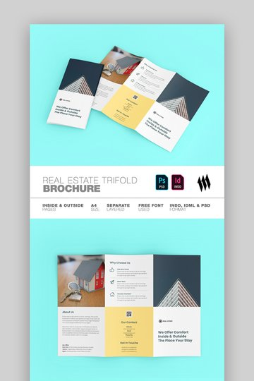 Real estate modern brochure
