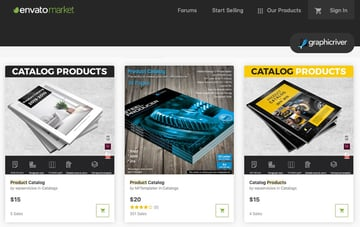 GraphicRiver New Product Brochure Templates