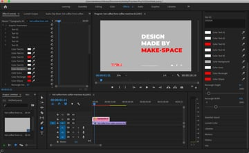 Essential Graphics in Premiere