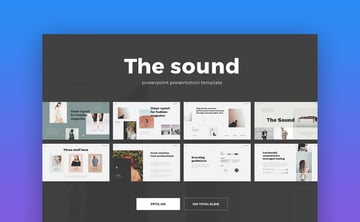 The Sound Clean Presentation Template