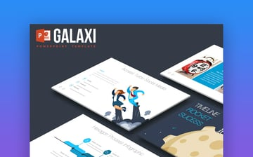 Galaxi PowerPoint Design template