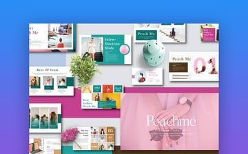 Peachme Creative PowerPoint Template