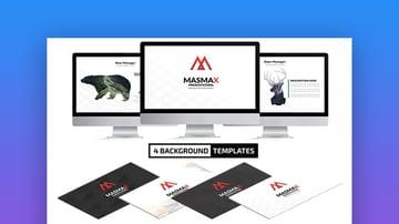 Masmax Keynote design templates