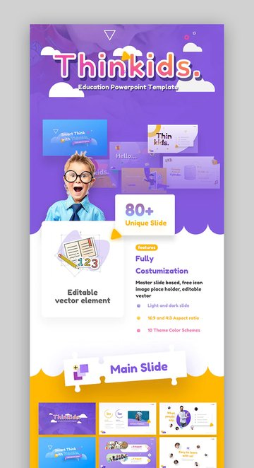 Thinkids Fun Presentation Templates
