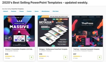GraphicRiver Webinar Presentation Examples