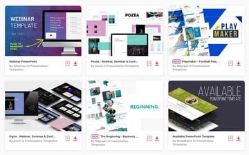 Webinar PPT Slides Elements